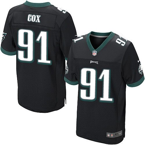 Women Nike Philadelphia Eagles  91 Fletcher Cox Game Best Black Alternate  NFL Jersey eb577b8884