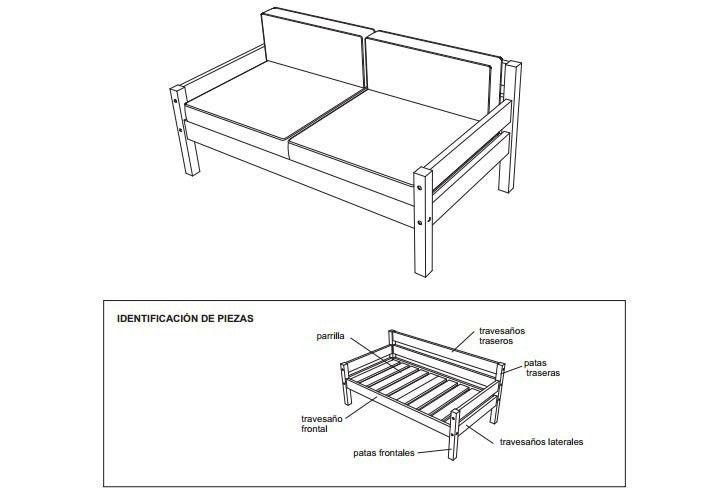 27 muebles que puedes construir t mismo sillones for Planos de sillones