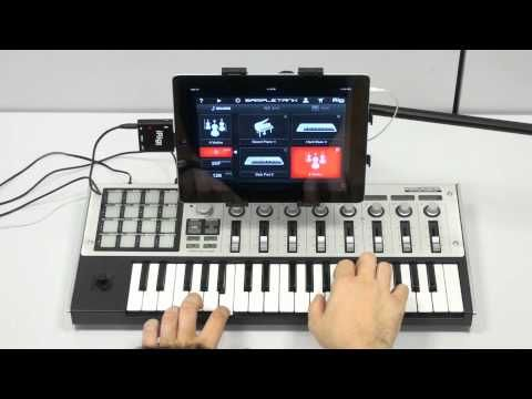 Irig Midi In Action With Sampletank And Garageband Classroom