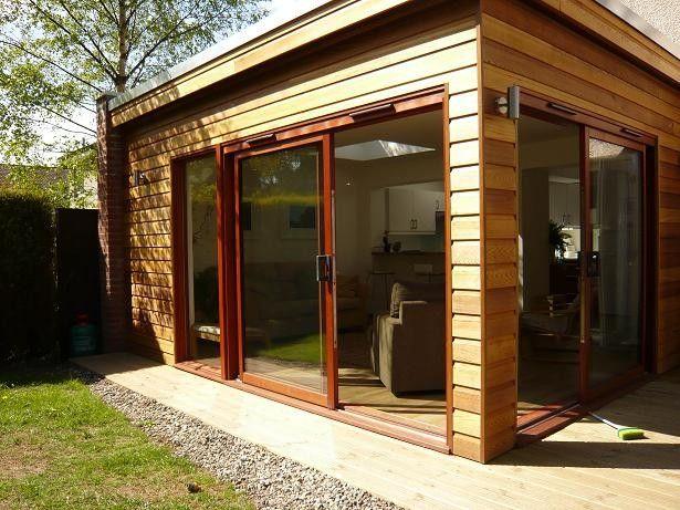 extention d'une veranda en ossature bois