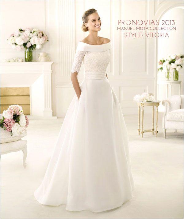 Wedding Gowns I Love: Pronovias 2013 Manuel Mota Collection | Manuel ...