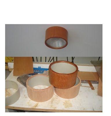 PVC PASSO A PASSO: Luminária de PVC e madeira - Ótima criação
