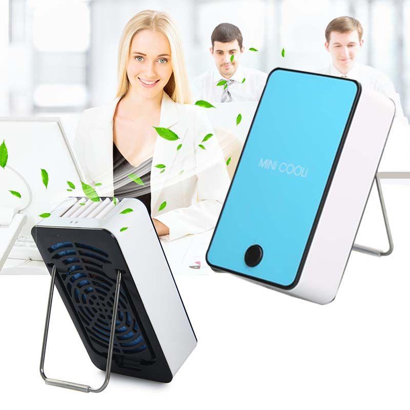 Portable Fan Mini Air Conditioner Water Mist Fan Office Ourdoor Creative  Humidifier Handheld Air Cooler Fan