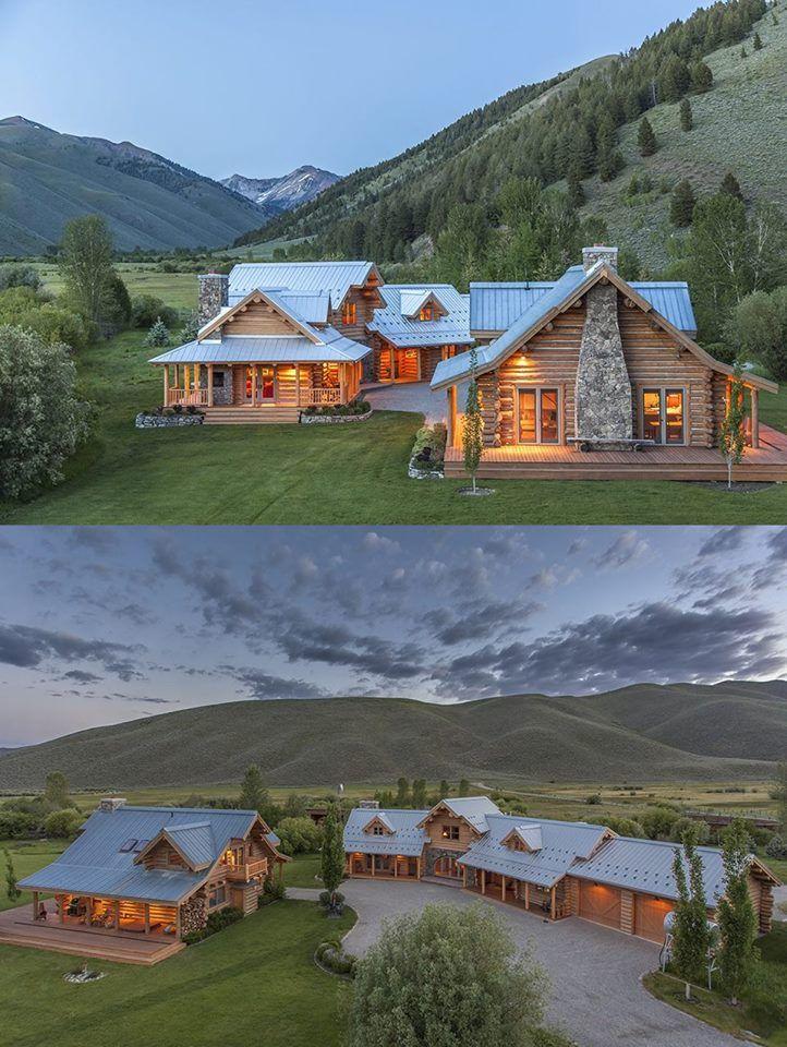 Steve mcqueen ranch chalet maison ma maison de r ve et chalet - Maison en bois montana cutler ...