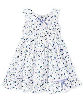 50321f4b88b Blueberi Boulevard Baby Girls  Printed Dress