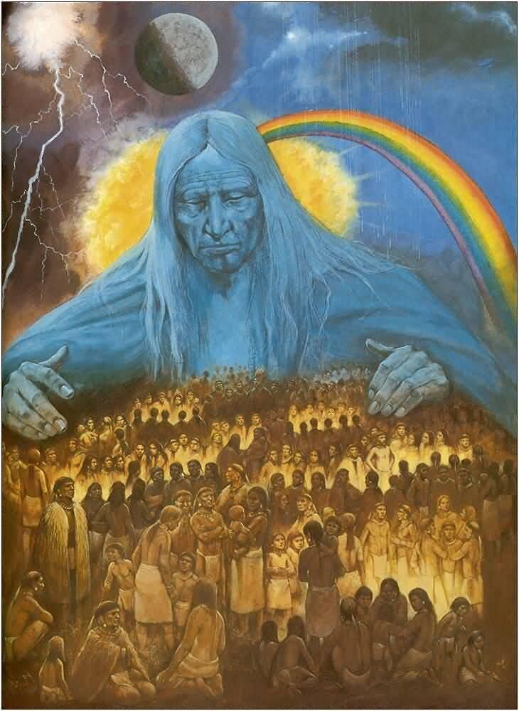 Rainbow warriors nature rainbow arco ris - Fogli da colorare nativo americano ...