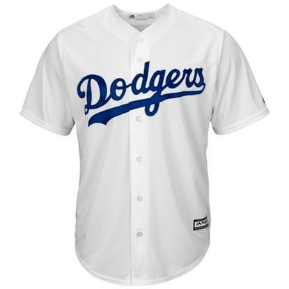 LA Dodgers Majestic Official Authentic Collection Cool Base Home Replica  Jersey