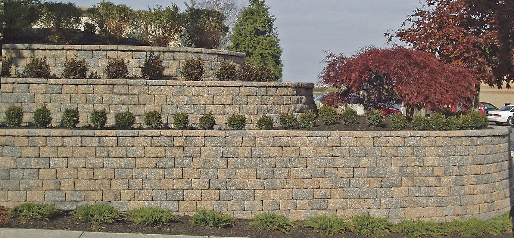 Cinder Block Retaining Wall Design