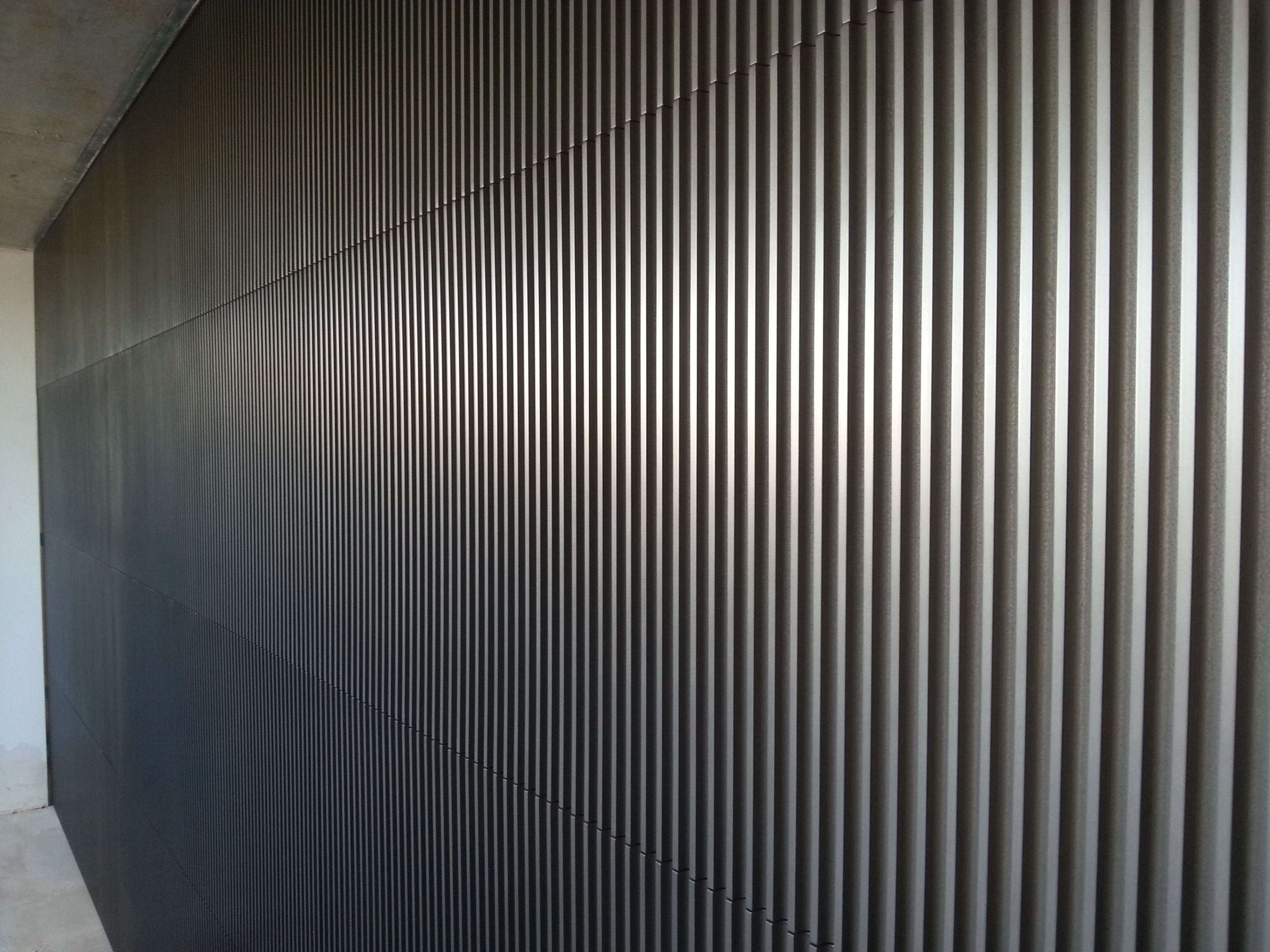 Axolotl Metal Custom 3d Routed Panels Garage Door