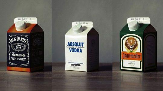 Alcohol Bottle Rethinking    LOL