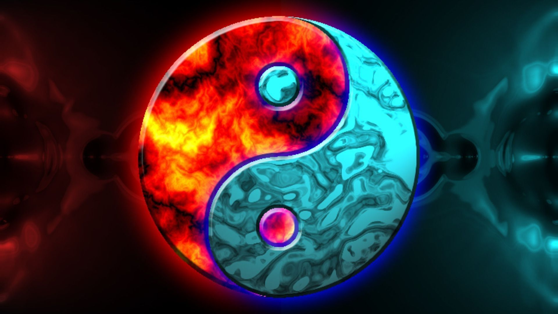 yin yang artwork abstraction new hd wallpaper | bermuda triangle