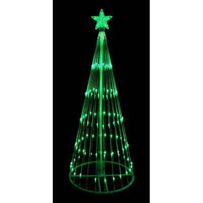 Lb International Decorative Led Light Show Cone Christmas Tree Lighted Yard Art Green Led Lights Led Christmas Lights Purple Led Lights