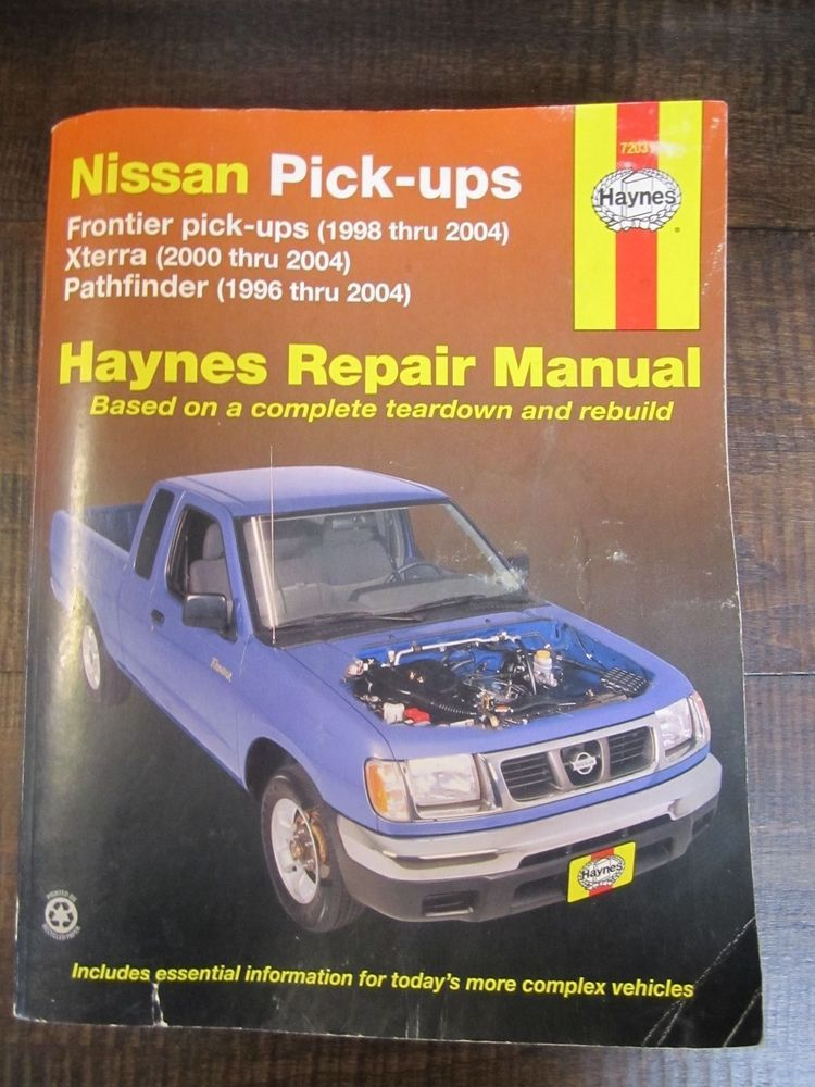 haynes 72031 repair manual nissan frontier pickups xterra rh pinterest co uk 2008 Nissan Xterra haynes repair manual nissan xterra