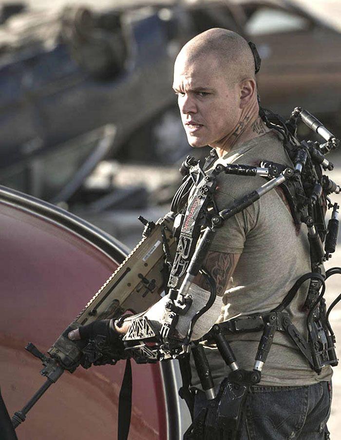 """Matt Damon en """"Elysi..."""