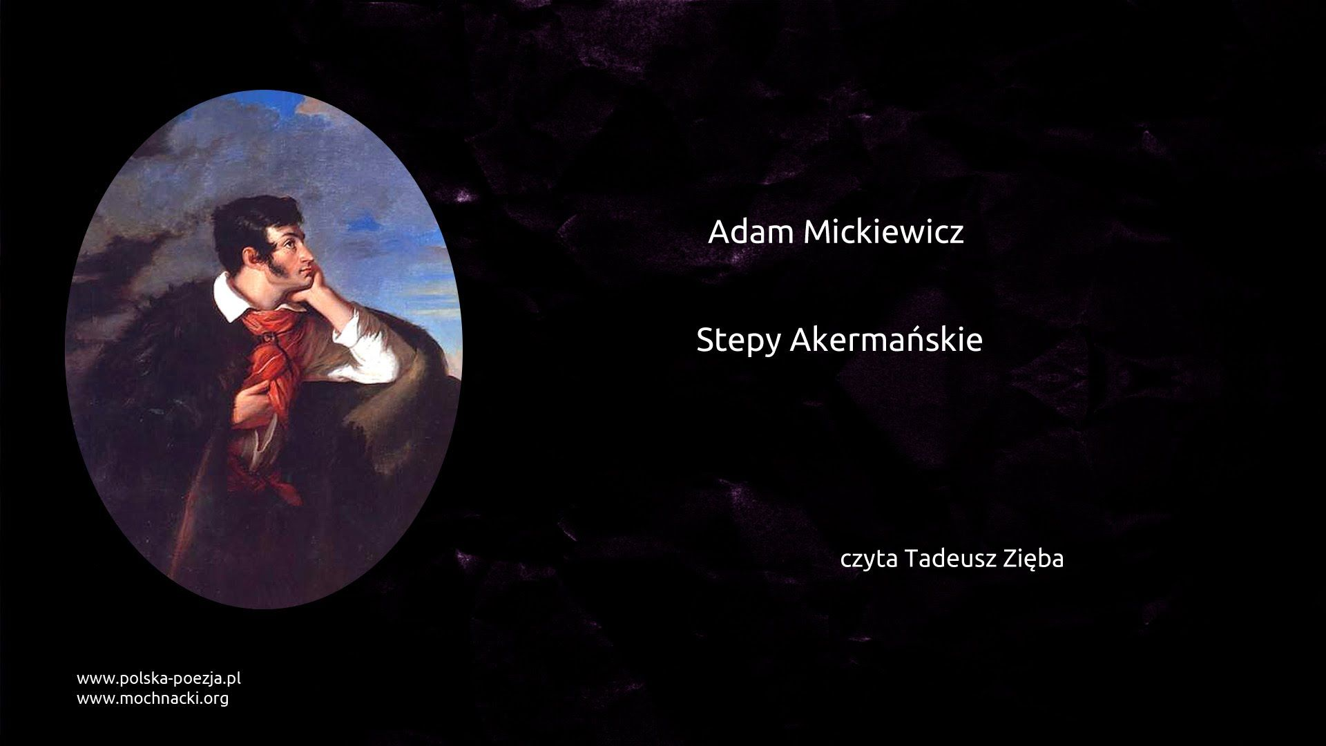 Adam Mickiewicz Stepy Akermańskie Movie Posters Artist