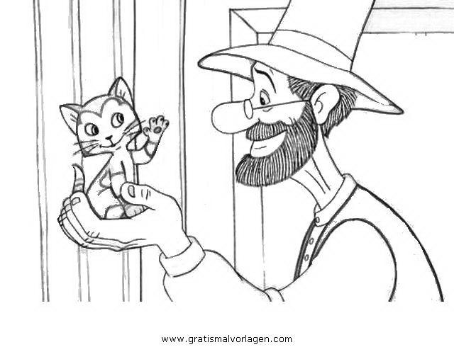 Trickfilmfiguren Petterson Kindergeburtstag