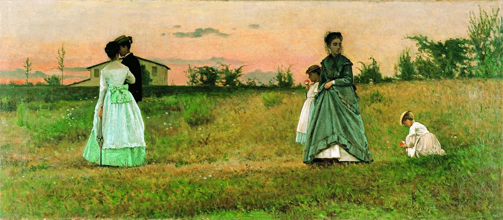 Silvestro Lega ~~ Modigliana 1881 ++ Firenze 1895