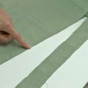 How to Straighten a Fabric's Grain - Threads