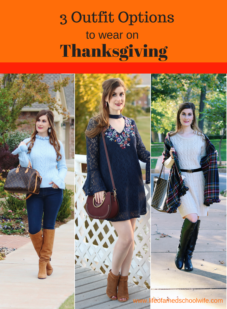 9bd33533f79 3 Outfit Options To Wear On Thanksgiving