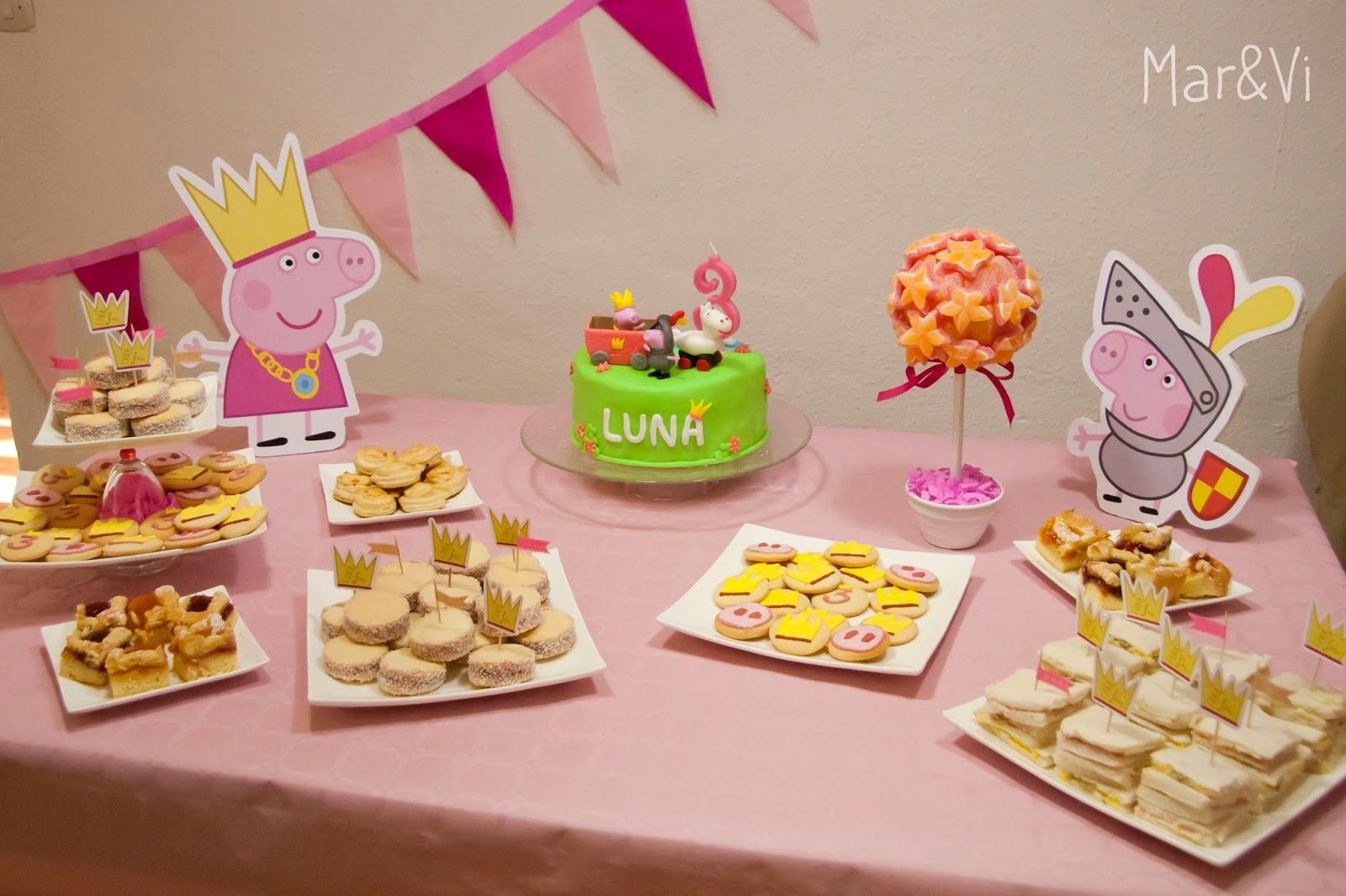 Marivi Trombeta: El cumpleaños de la princesa Peppa Pig Princess Party