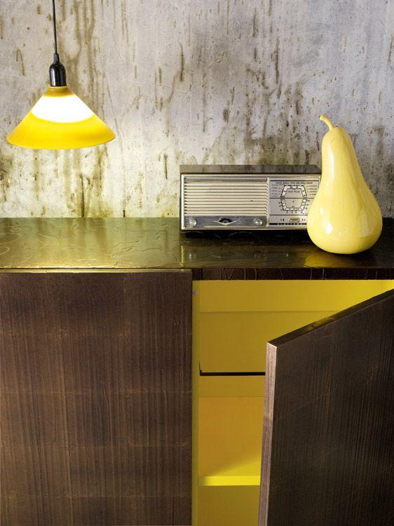 CENTOTRENTACINQUE / texture Drop Foglia Bronzo   Capo d ...