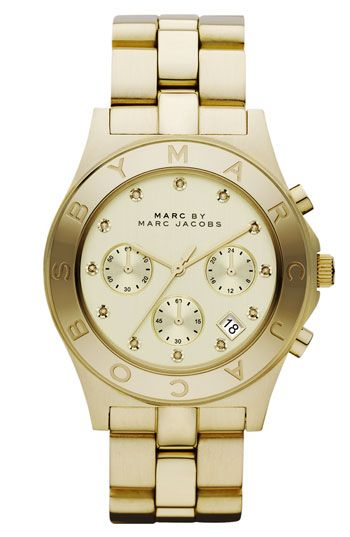 MARC BY MARC JACOBS 'Blade' Crystal Index Watch | Nordstrom