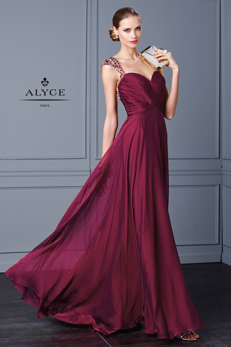 Alyce black label dress style front view fall alyce