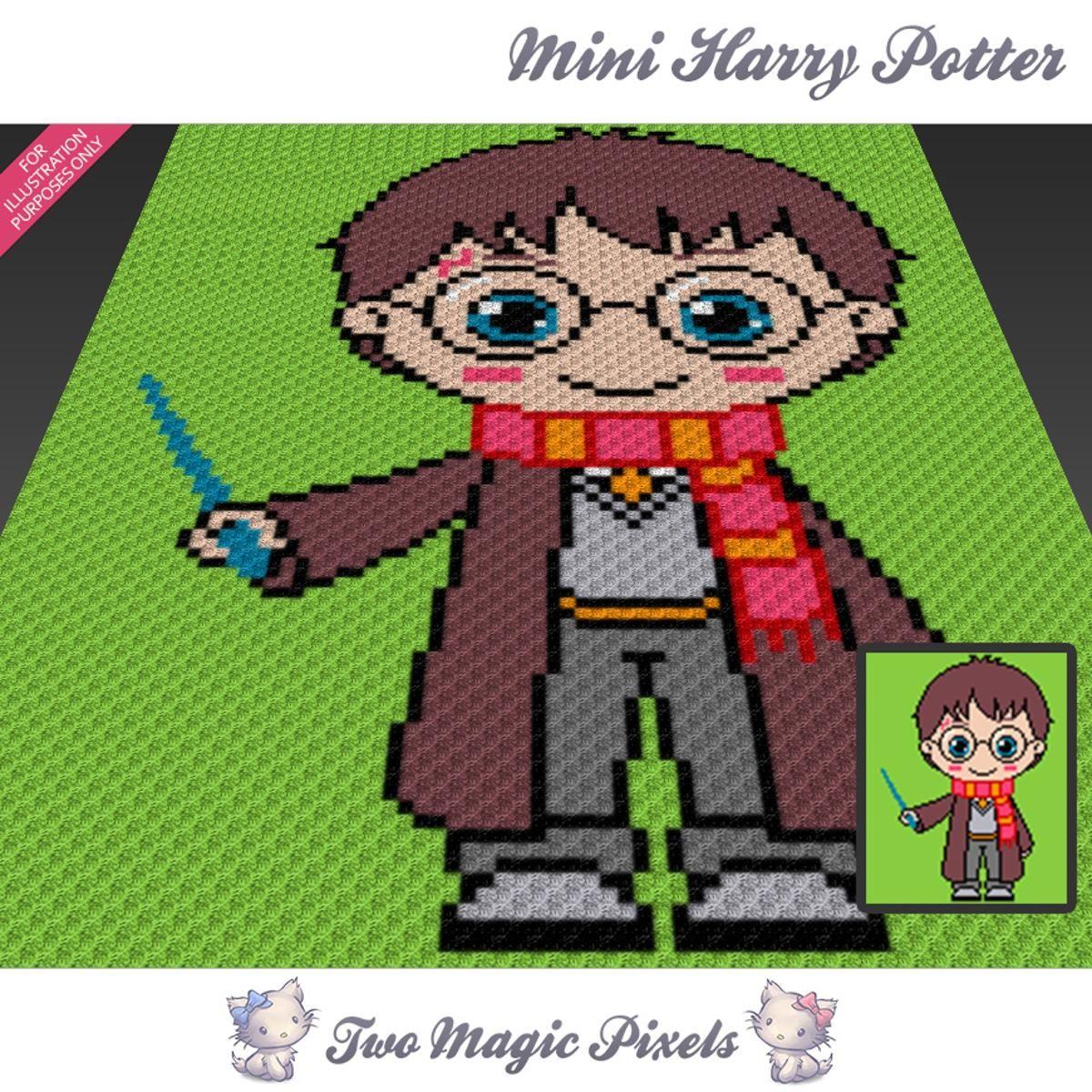 Attractive Häkeln Harry Potter Muster Inspiration - Decke Stricken ...