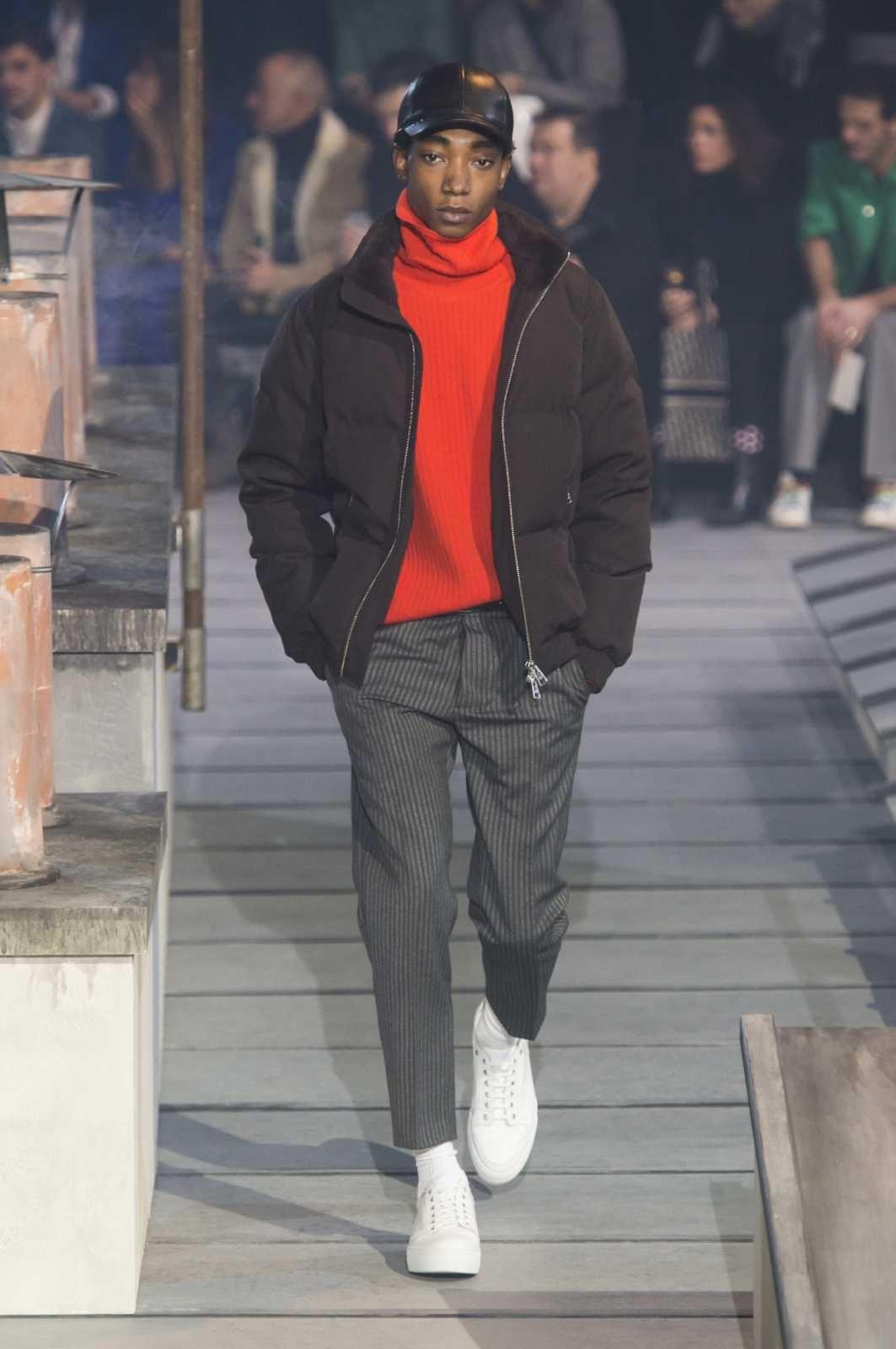 Male Fashion Trends  AMI Alexandre Mattiussi Fall-Winter 2018-2019   Paris  Fashion Week  FashionTrends2019 57014a44647