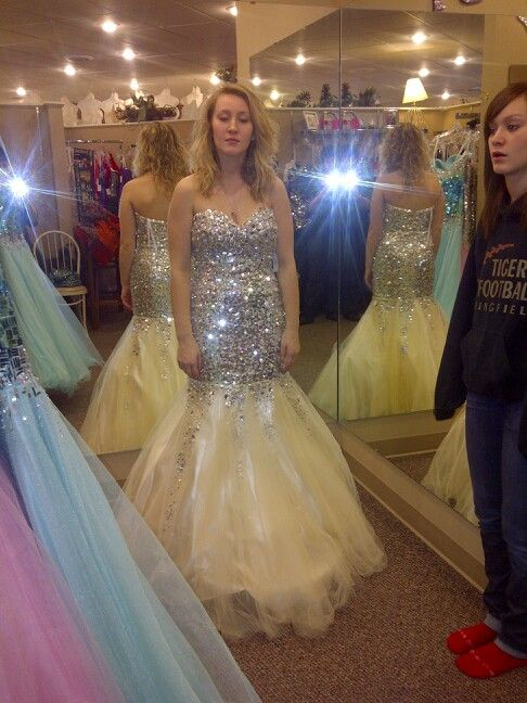 Katies prom dress from sisters bridal in new ulm mn | Fashion ...