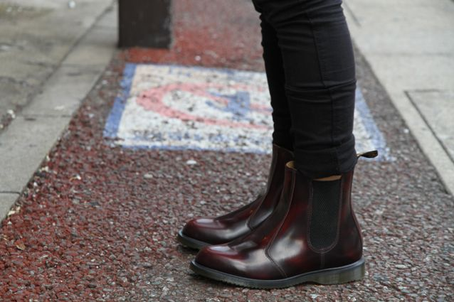 2e30edf704a Drmartens chelsea boots fall must have. Dr Martens Flora (my 4th pair)  )
