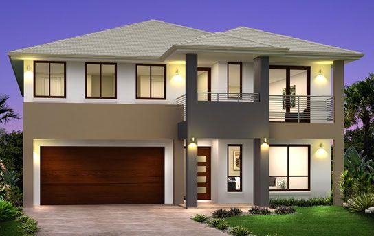 Aria Retro 544x344px 1 Jpg 544 344 Double Story House Facade House Building Plans House