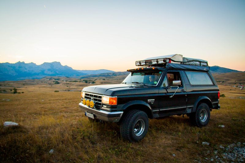 Ford Bronco Fullsize 1991 From Europe Expedition Portal