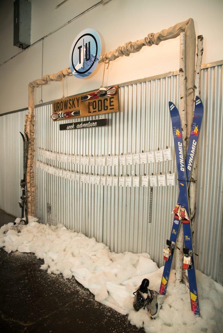 Winter Ski Themed Bar Mitzvah The Celebration Society Ski Lodge Party Apres Ski Party Bar Mitzvah