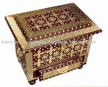 Wooden Chest Box Treasure Chest Boxes Antique Wood Box Wood Craft Boxes Wooden Box Large Wooden Box Hand Carved Wood Box View Brass Inlay Hand Carved Woo How To Antique Wood