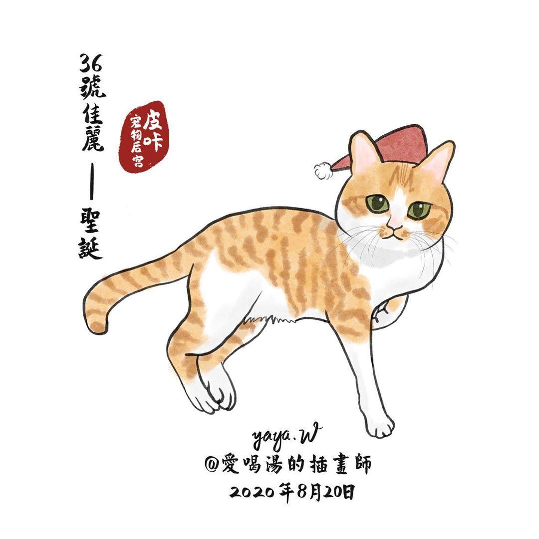 """yaya.W on Instagram: """"36/3000  #pikaspalace #catsofinstagram #cat #catlovers #cats #catstagram #pet #petsofinstagram  #petart  #kitty #kittycat #art…"""""""