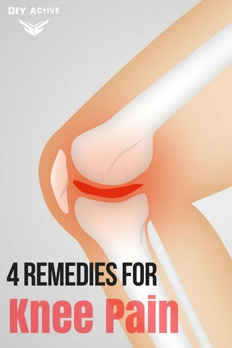 Take care of your knee pain at home, safely!