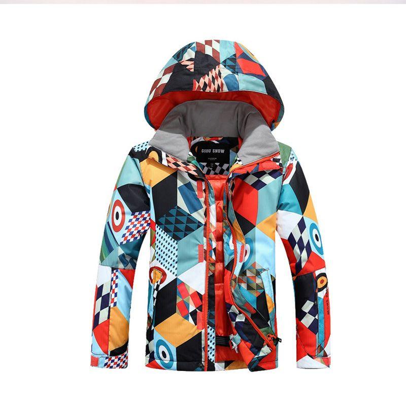 35358af12 New Winter Cheap Girls Boys Snowboard Ski Suits Snow Jacket Pants ...