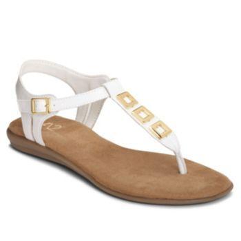 Womens Sandals Aerosoles Enchlave White