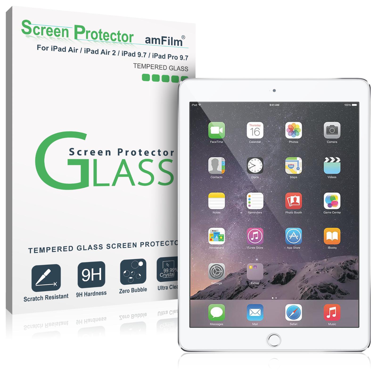 8 99 Ipad 9 7 Pro 9 7 Air Air 2 Amfilm Tempered Glass Screen Protector 1 Pack Ebay Electronics Ipad Air 2 Ipad Air Ipad Pro
