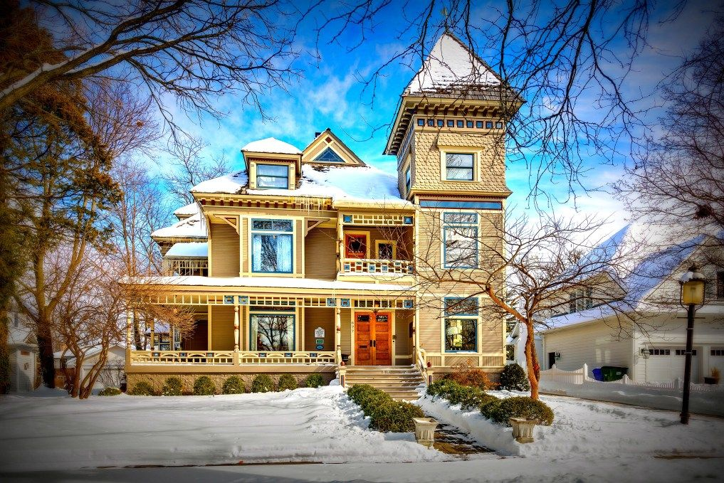 1893 stacey mansion in glen ellyn illinois mansions old