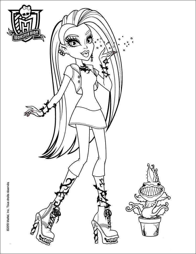 99 Genial Monster High Malvorlagen Das Bild Monster High Ausmalbilder Ausmalbilder Monster High Charaktere
