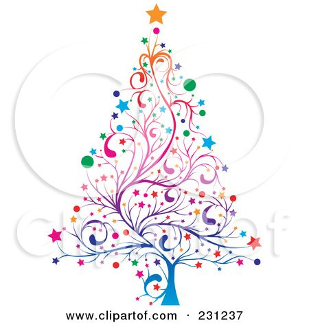 Whimsical Christmas Tree Clip Art Free Whimsical Christmas Trees Whimsical Christmas Art Whimsical Christmas