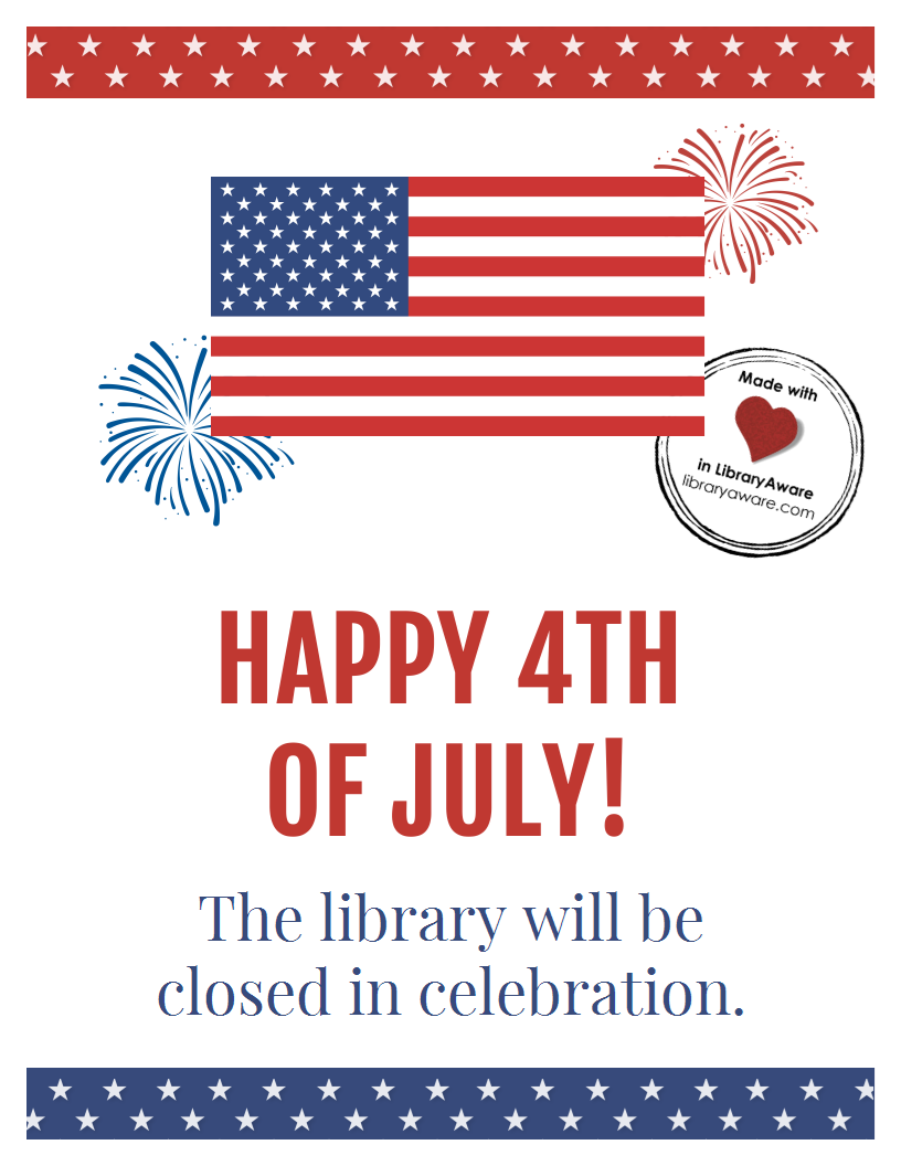 Customize Or Print This 4th Of July Closing Sign Sized As A Flyer Or Poster Madeinli Fourth Of July Quotes Fourth Of July Crafts For Kids Closed 4th Of July [ 1056 x 816 Pixel ]