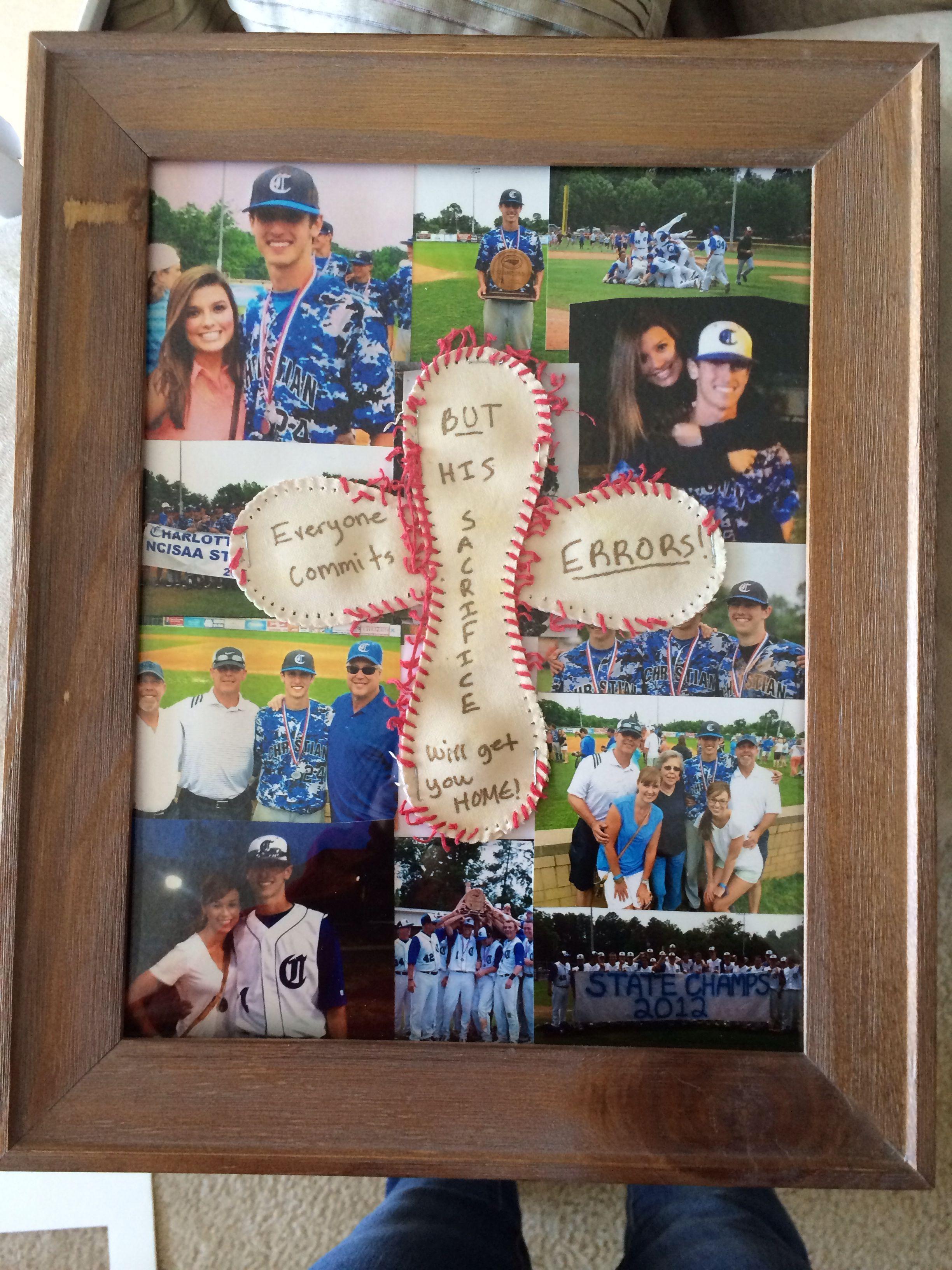 Baseball craft idea for the boyfriend | things i love | Pinterest | Tod