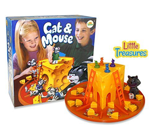 Little Treasures Cat And Mouse Cheese Game Kids Interaction Cat Mouse 3d Board Game Great Holiday Gift For Cat Games For Kids Fun Games For Kids Games For Kids