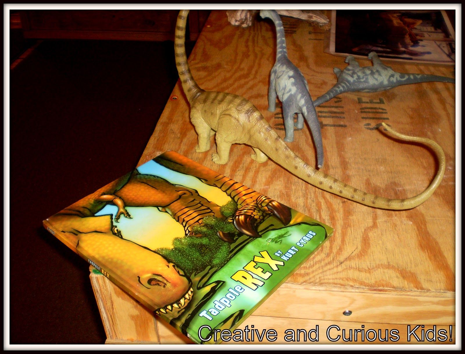 Creative And Curious Kids Tadpole Rex By Kurt Cyrus