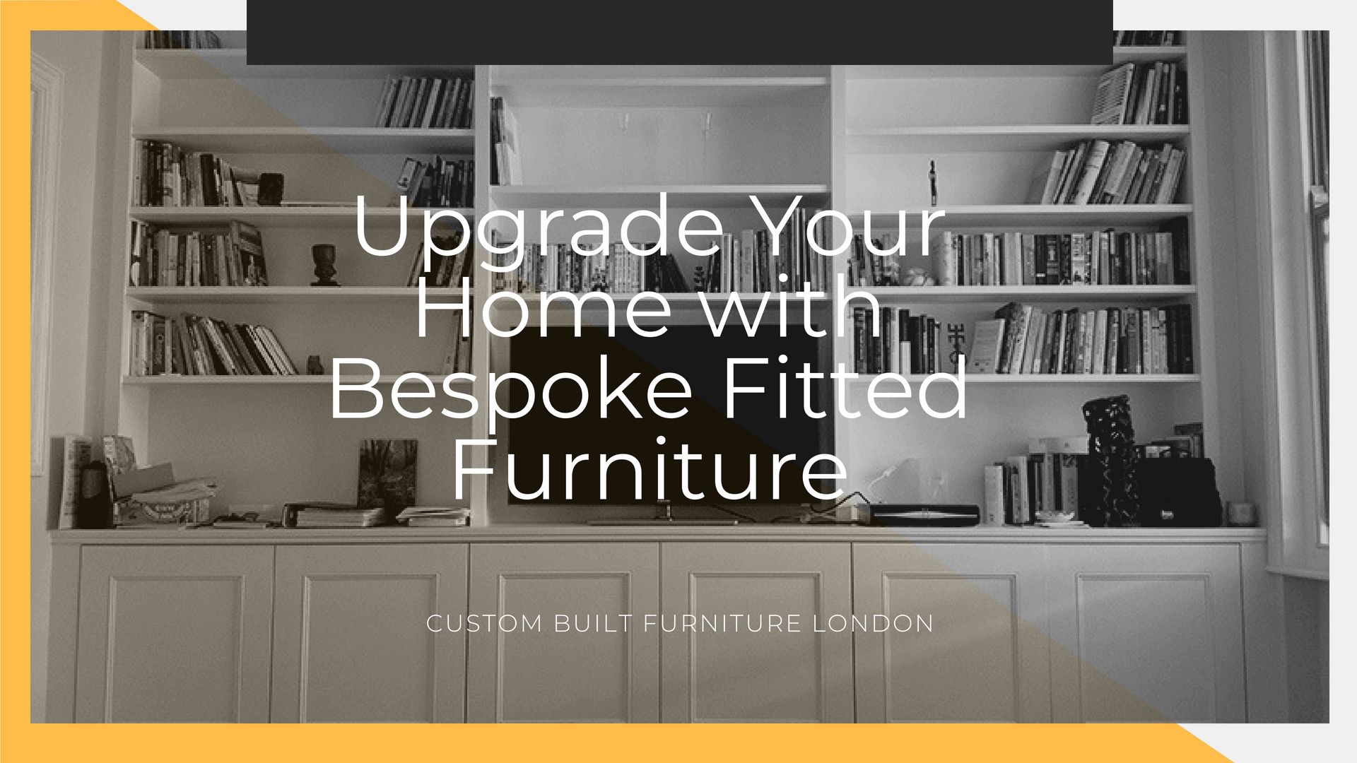 Add value to any home with bespoke fitted furniture fitted