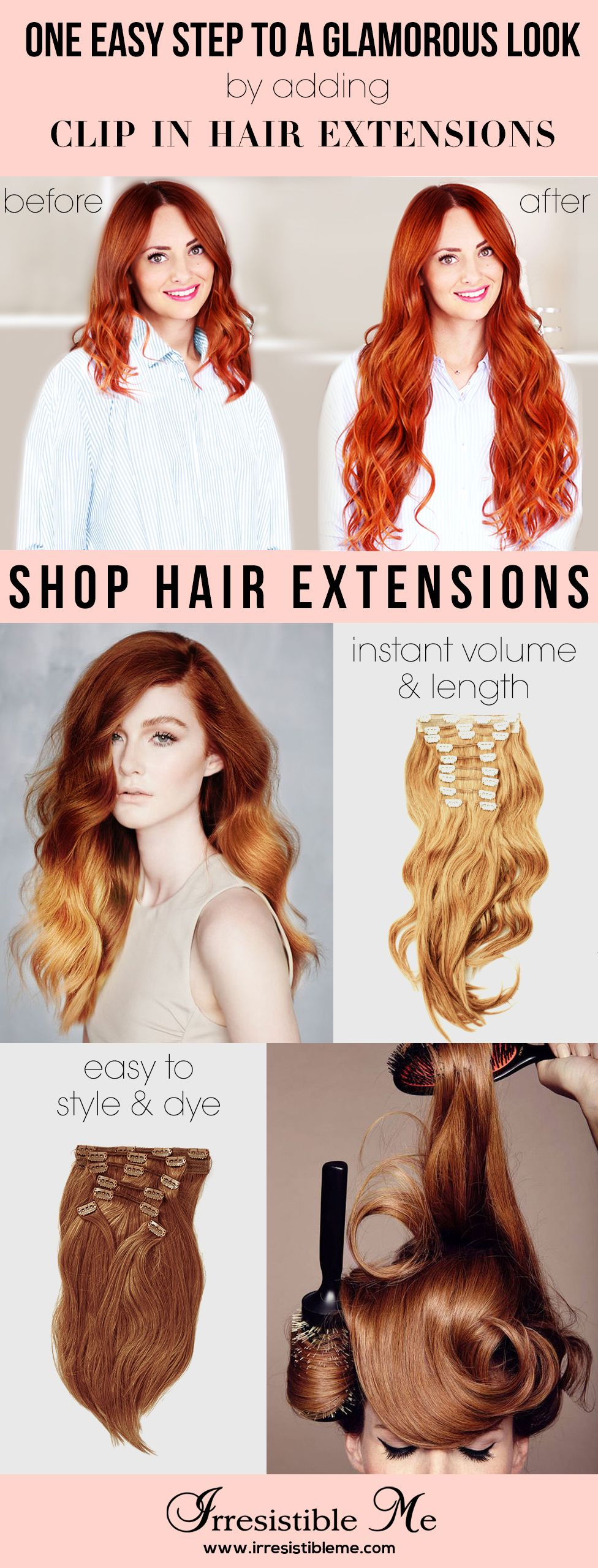 the perfect day starts with cute hair. try a dramatic hairstyle