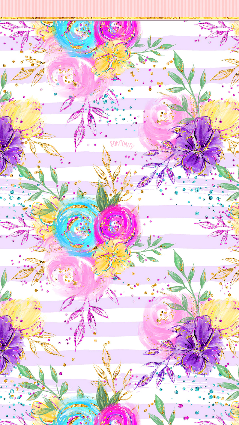 Phone Wallpapers Hd Fairy Magic Glitter Flowers By Bonton Tv Free Backgrounds 1080x1920 Wal Cute Flower Wallpapers Flower Phone Wallpaper Flowery Wallpaper